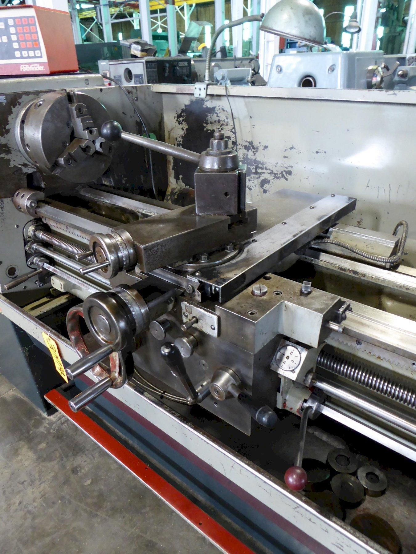 """15"""" x 50"""" Clausing Colchester Lathe, Inch/mm, 2000 RPM, 7-1/2 HP, Clean"""