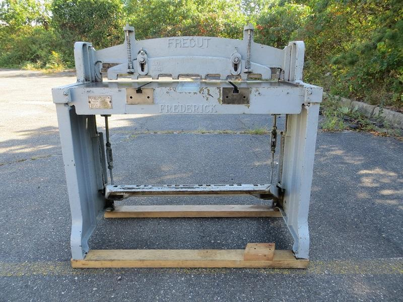 18 Ga x 3 ft, Frederick Foot Shear, Model 1836