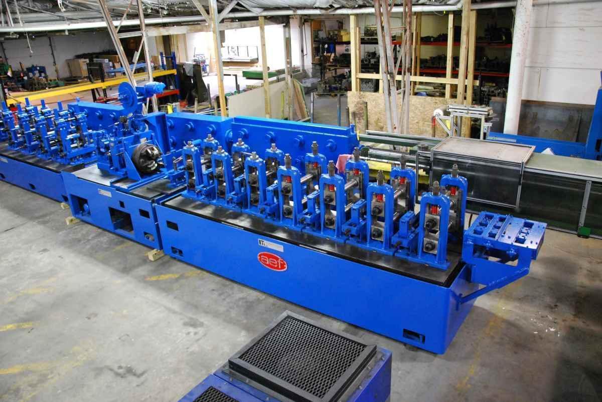 3″ (76.2 mm) x .134″ (3.40 mm) AEF Tube Mill