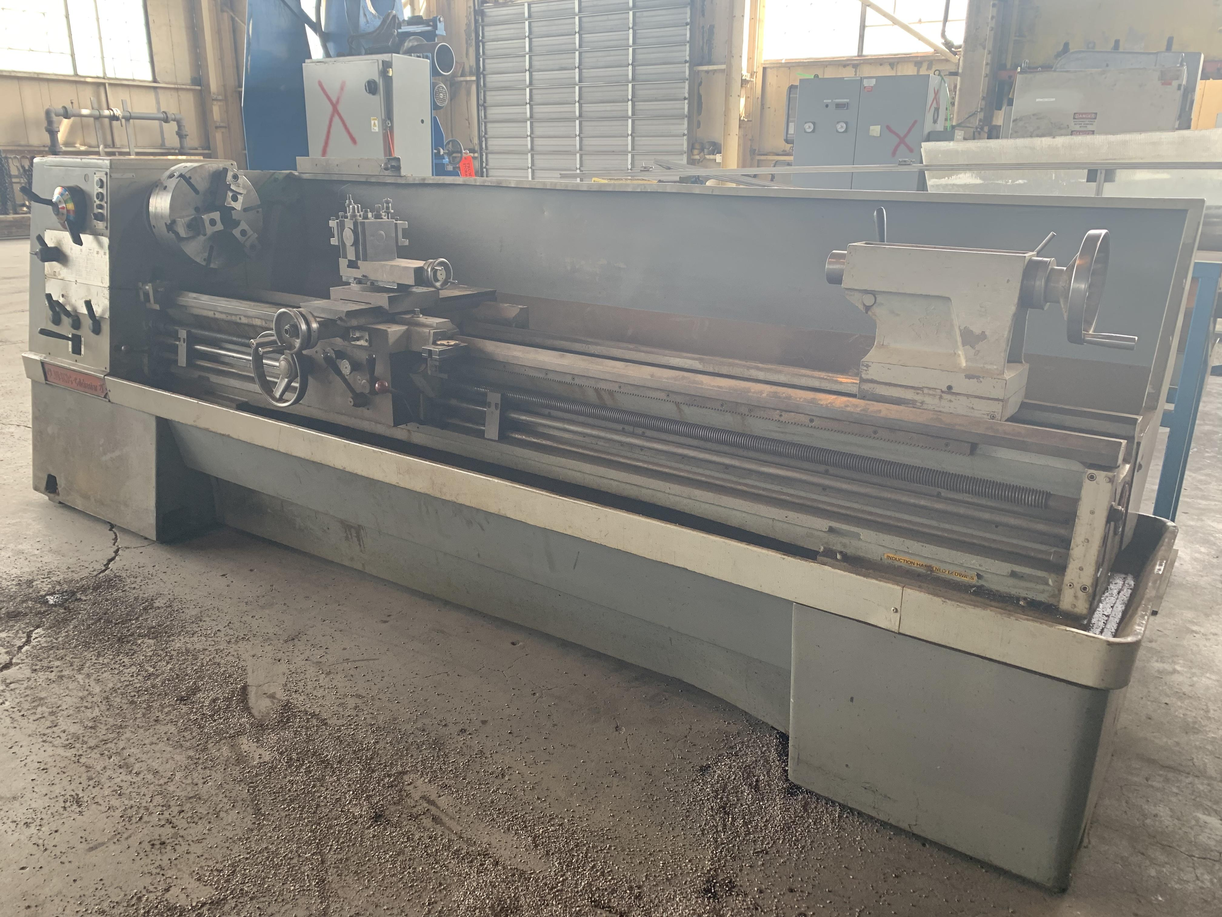 """21"""" X 108"""" CLAUSING COLCHESTER ENGINE LATHE: STOCK #10815"""