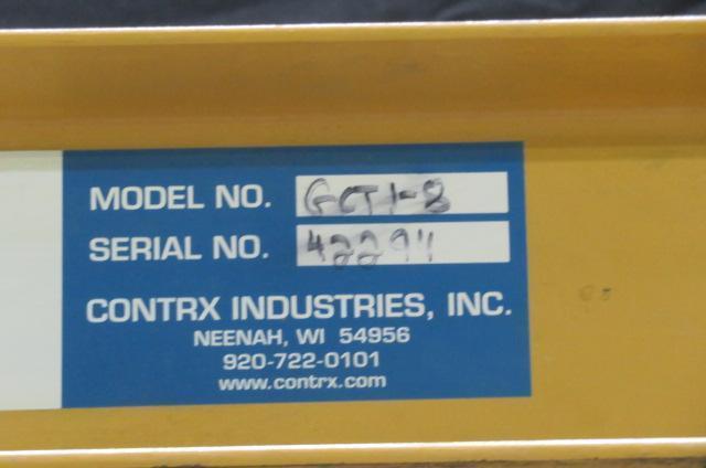 Coffing GCTI-8 Used Portable Hoist, 1 ton capacity, 110V