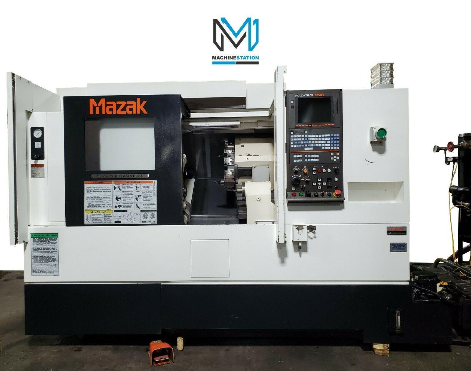MAZAK QUICK TURN SMART QTS-250 CNC TURNING CENTER