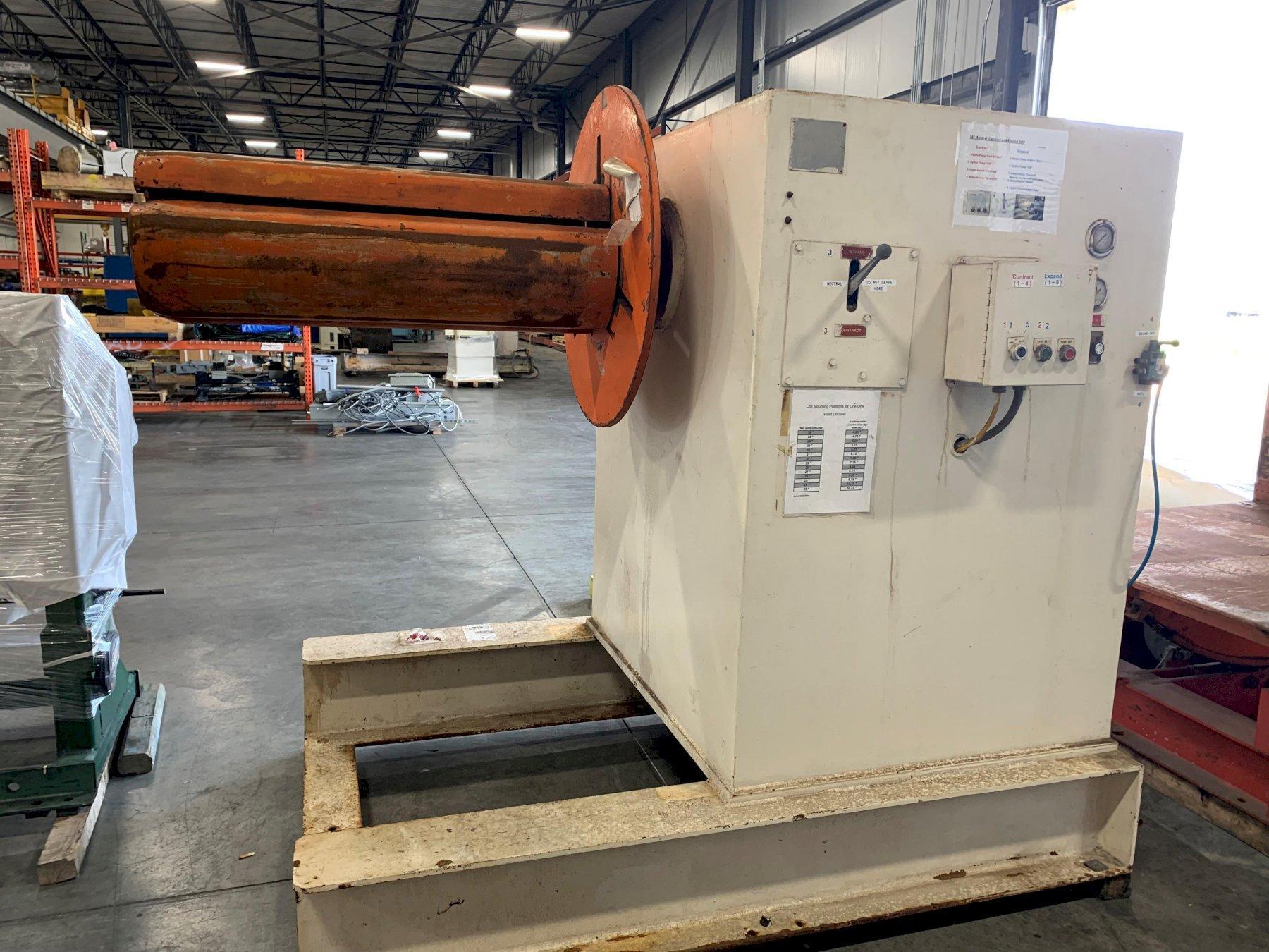 American Steel Line Pull Off Coil Reel 10,000 Lb