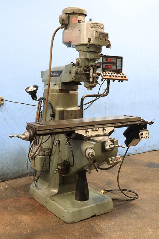 "2 HP, Bridgeport Vertical Milling Machine Series I, 9"" x 42"" Table"