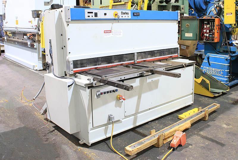 """.157"""" x 6 ft Darley Hydraulic Shear Model S2000x4"""