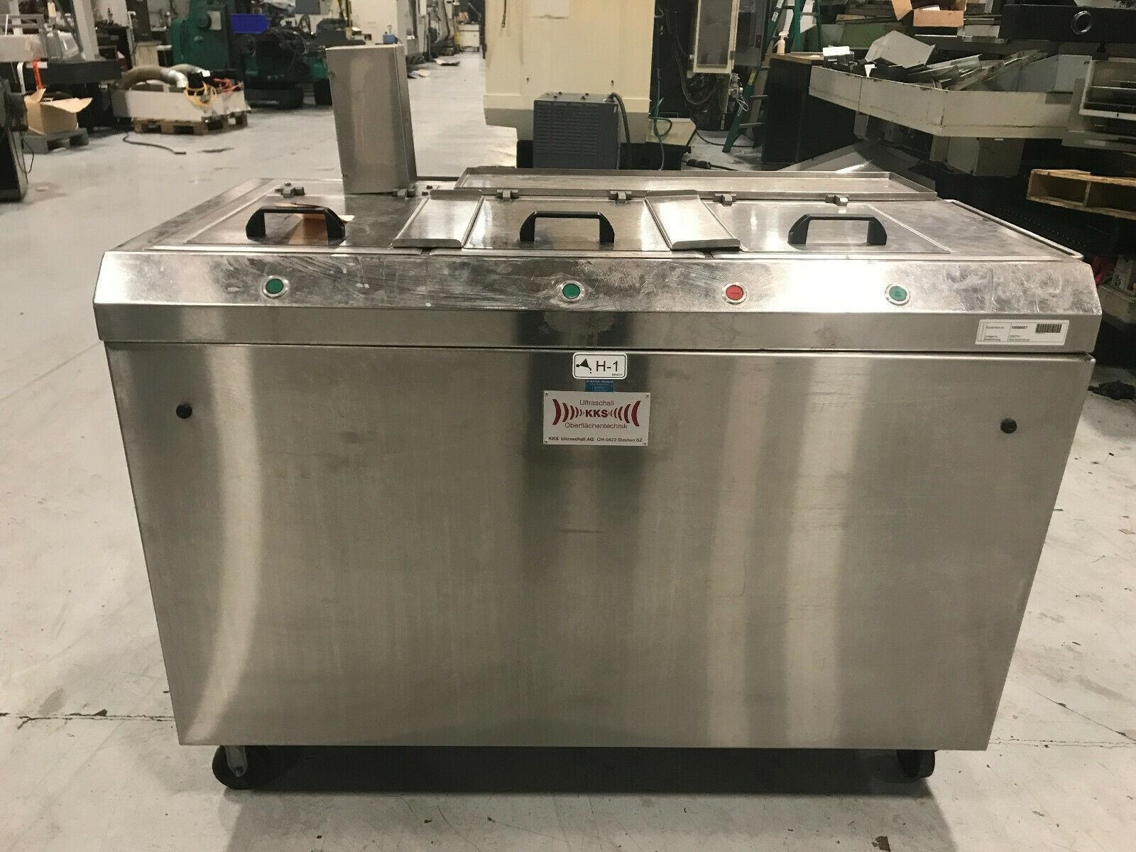 KKS Ultraschall Three Stage Ultrasonic Cleaner
