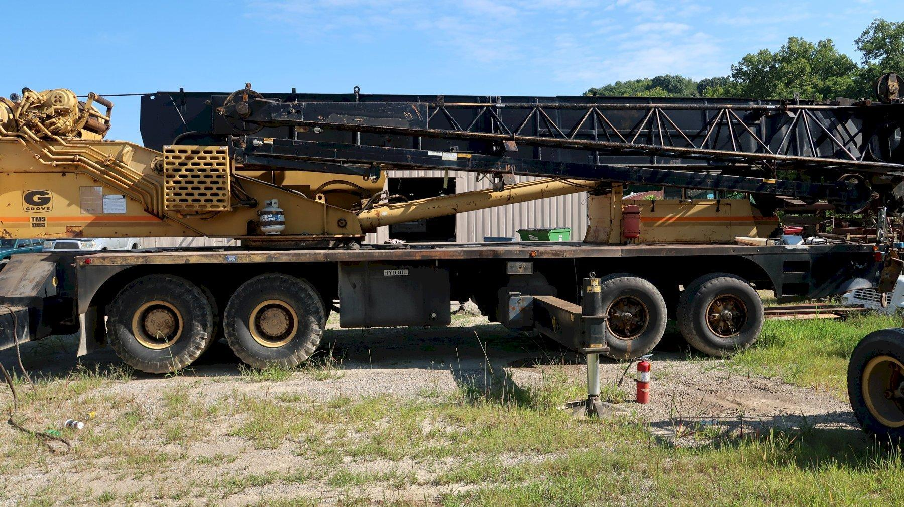 65 Ton Grove TMS865 All Terrain Crane