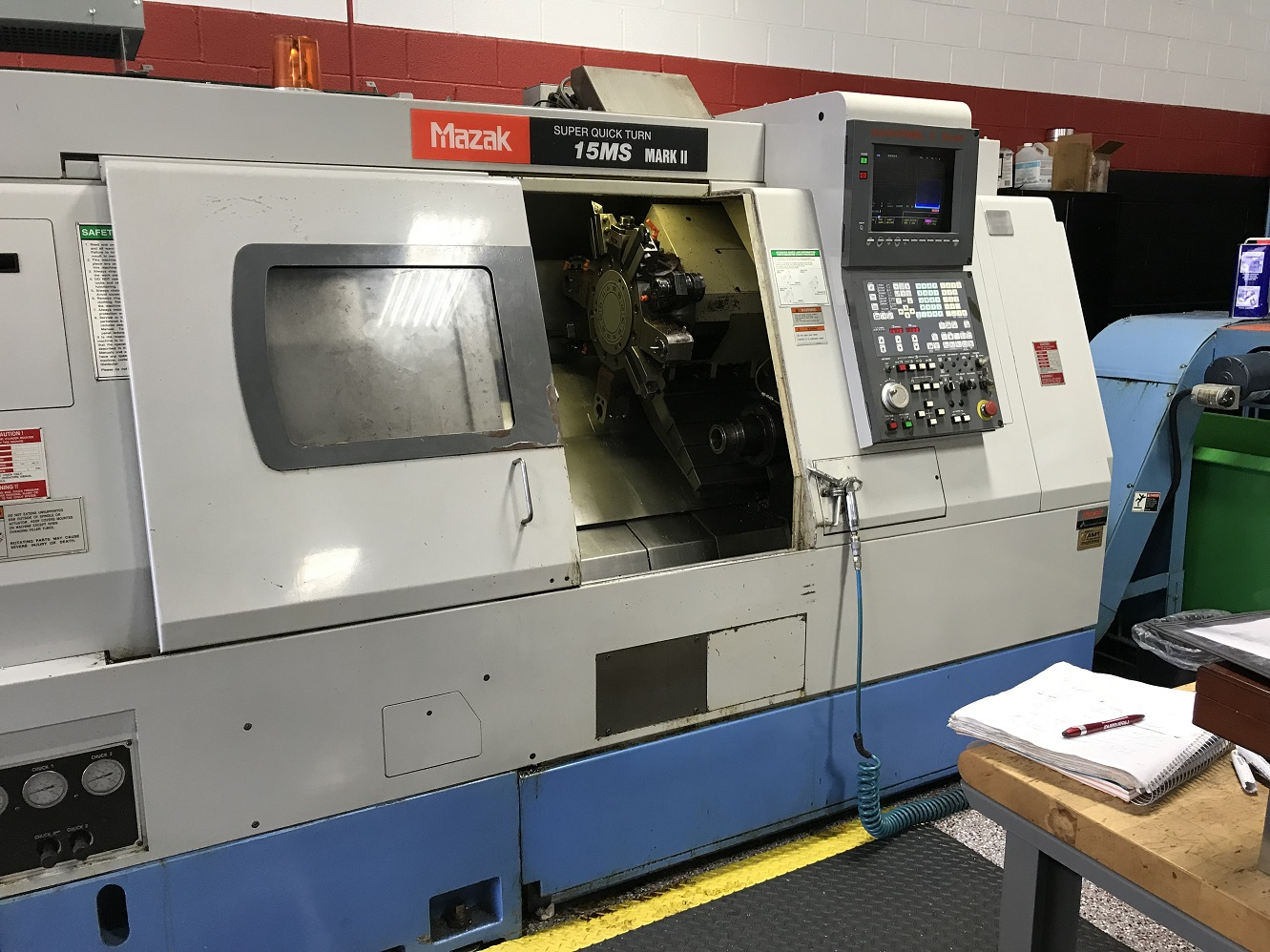 MAZAK QUICK TURN 15MS MARK II