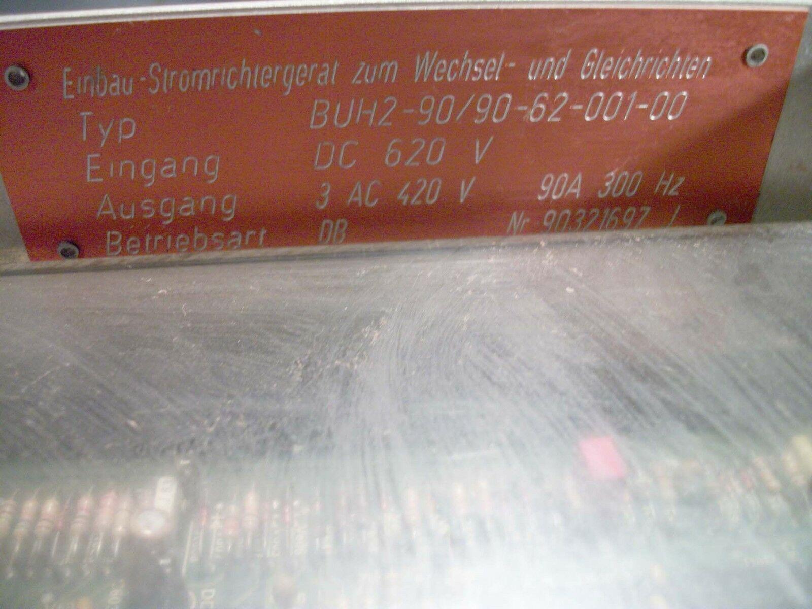 Baumuller Axis Drive 90A BUH2-90/90-62-001-00, Nr90321697 5