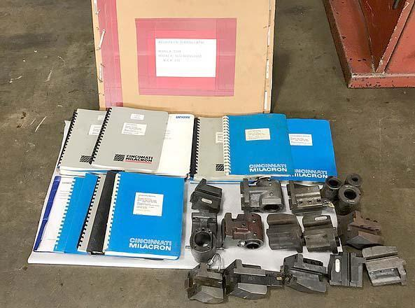 "CINCINNATI AVENGER 250T, Acramatic 850SX CNC Control, 23"" Swing, Tailstock w/ 23"" Between Centers, 2"" Bar Capacity, New 1995"