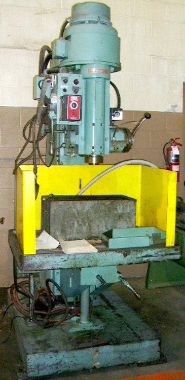 "USED JOHANSSON DRILL PRESS, 40"" x 26"", Stock No. 7367"