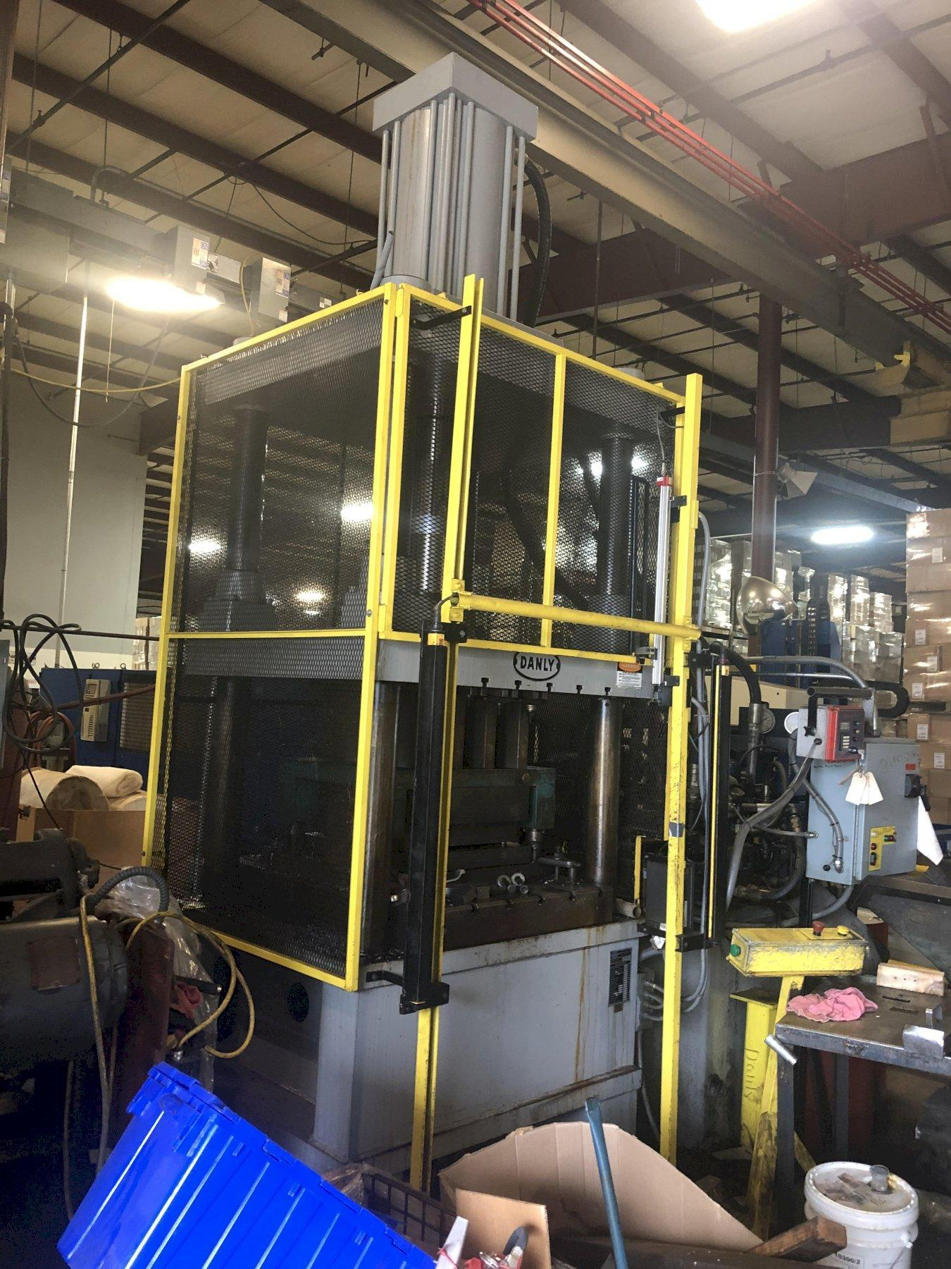 """200 TON DANLY HYDRAULIC PRESS, 36"""" X 44"""" BED, 24"""" STROKE,  53"""" DAYLIGHT, UPDATED CONTROLS"""