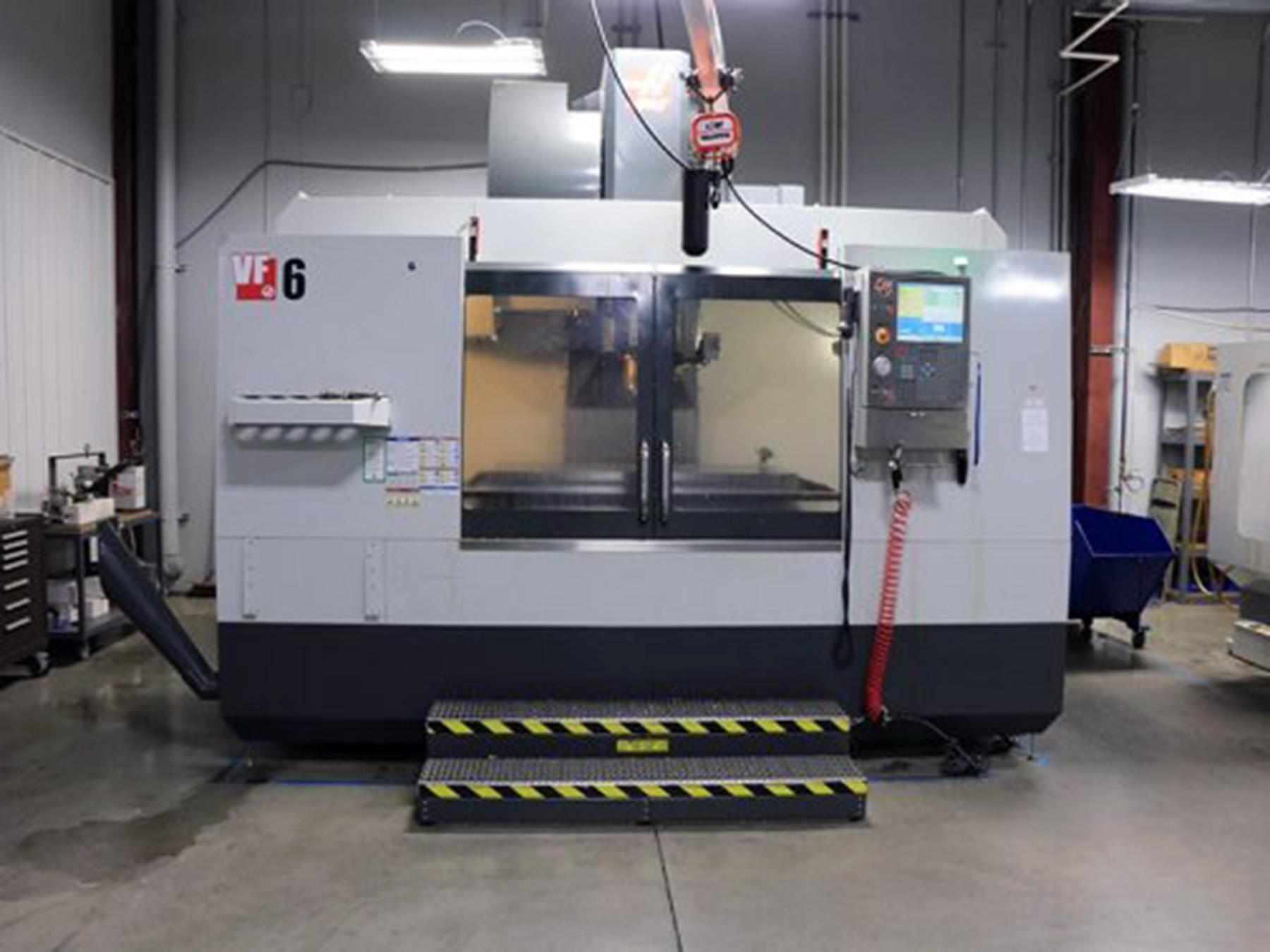 USED, HAAS VF-6/50 CNC VERTICAL MACHINING CENTER
