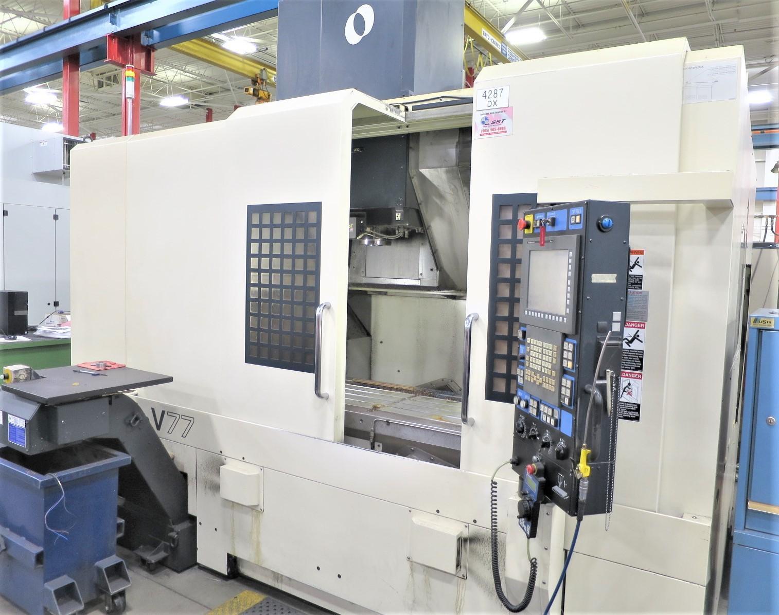 MAKINO V77 HIGH PRECISION CNC VERTICAL MACHINING CENTER