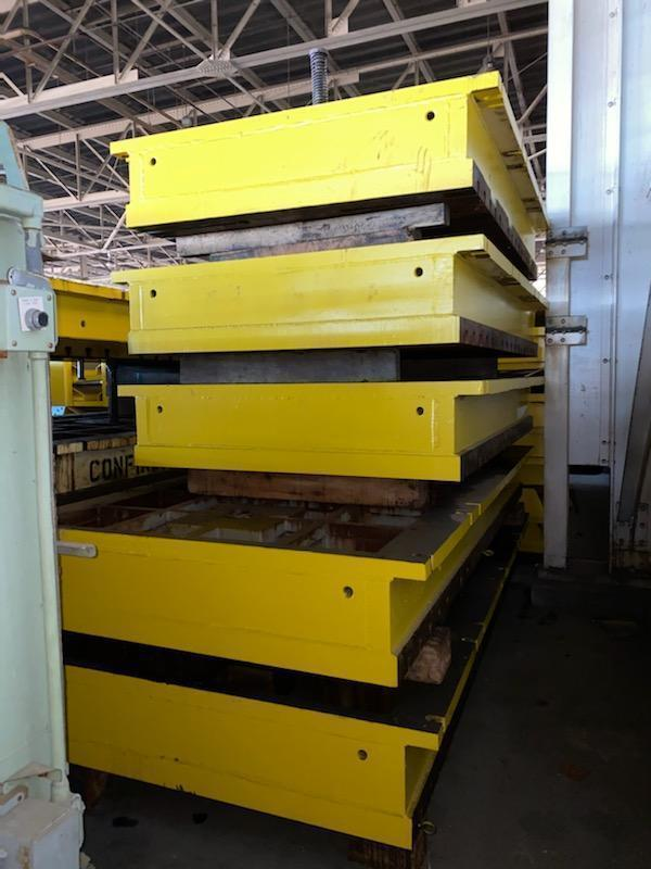"""65"""" x 107"""" x 16"""" T Slotted Floor Plate"""