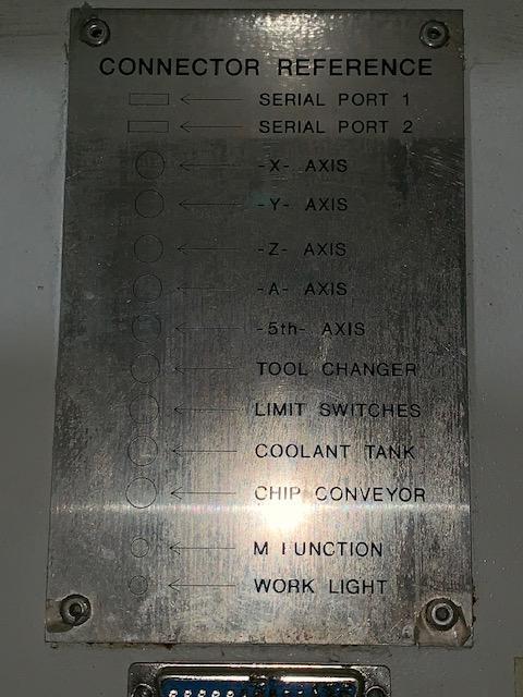HAAS VF-8/50 CNC VERTICAL MACHINING CENTER. STOCK # 0954420