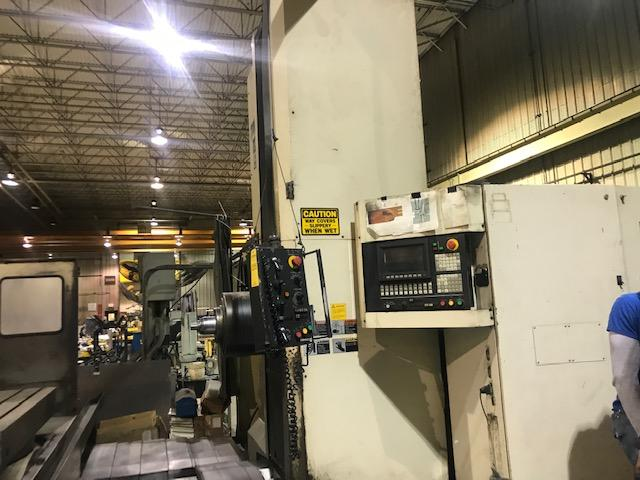 Toshiba BTD 110 R16 CNC Horizontal Boring Mill with Extended Travels