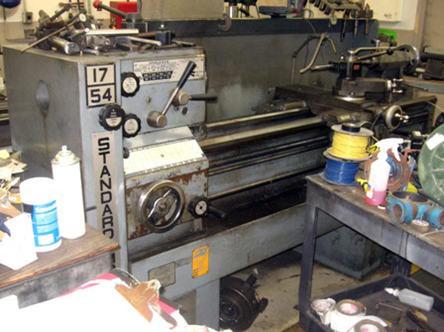 USED, STANDARD MODERN MODEL 17-54 ENGINE LATHE