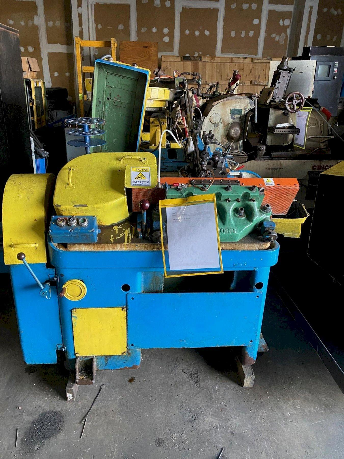 #0 Hartford Model 0-400 High Speed Flat Die Thread Roller