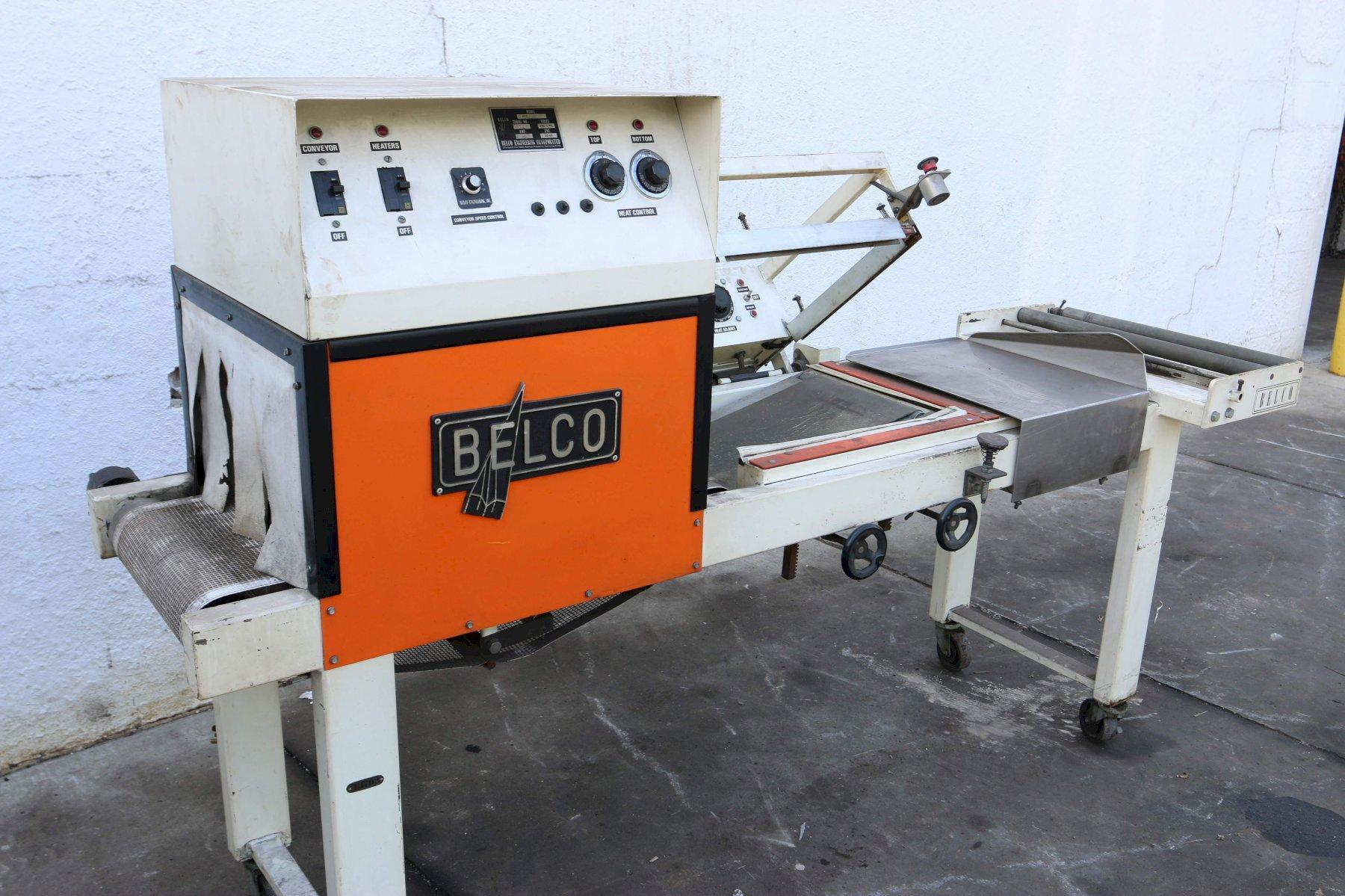 BELCO MODEL STC-2016 'L-BAR' PACKAGING SEALER MACHINE: STOCK #70693