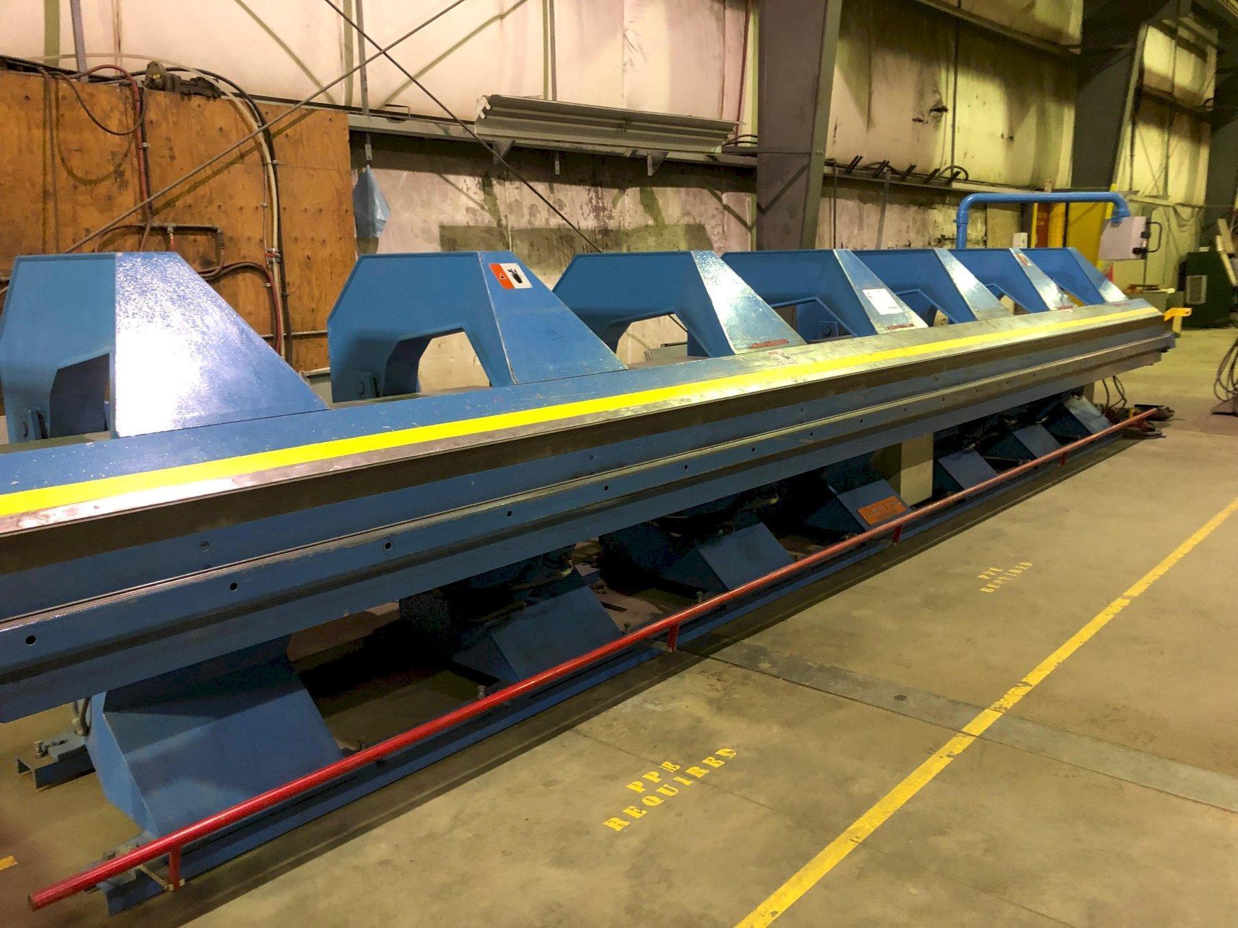 26' X 18 GAUGE JORNS AF CNC SHEET METAL FOLDER: STOCK#2166