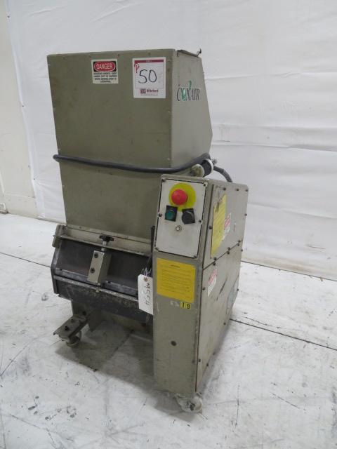 "Conair Used CR-614 Granulator, 7"" x 16.5"", 3hp, 460V, Yr. 1996"