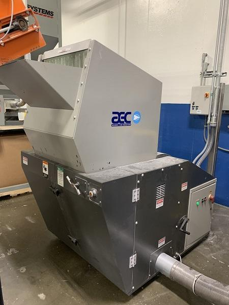 AEC Used GP1628 Granulator, 40hp, 460V, Yr. 2013