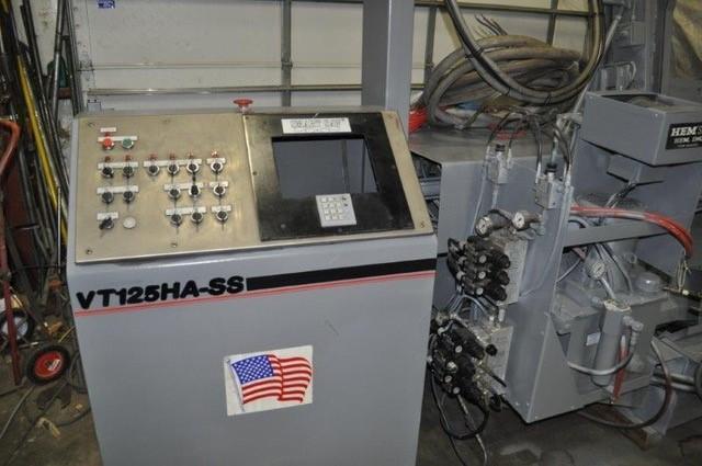 "18"" x 25"" HEM MODEL VT-125-HA-1 AUTOMATIC HORIZONTAL BAND SAW"