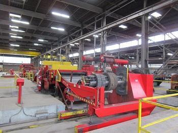 """72"""" x 1/4"""" x 50,000# RED BUD/HERR VOSS CUT TO LENGTH LINE   Our stock number: 114457"""