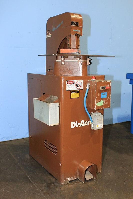 "16 Ga x 6"" x 6"" Diacro Power Notcher Model 2P"