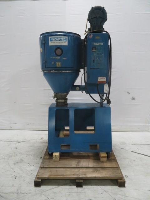 Novatec Used MD50 Material Dryer, Desiccant, Approx. 50 lbs/hr, 208V, Yr. 1999