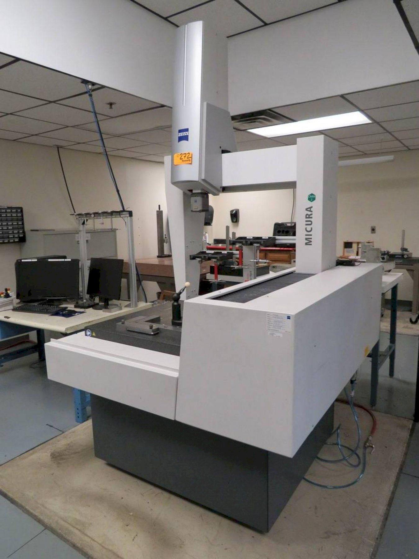 2019 Zeiss Micura 5/7/5 DCC Coordinate Measuring Machine (CMM)