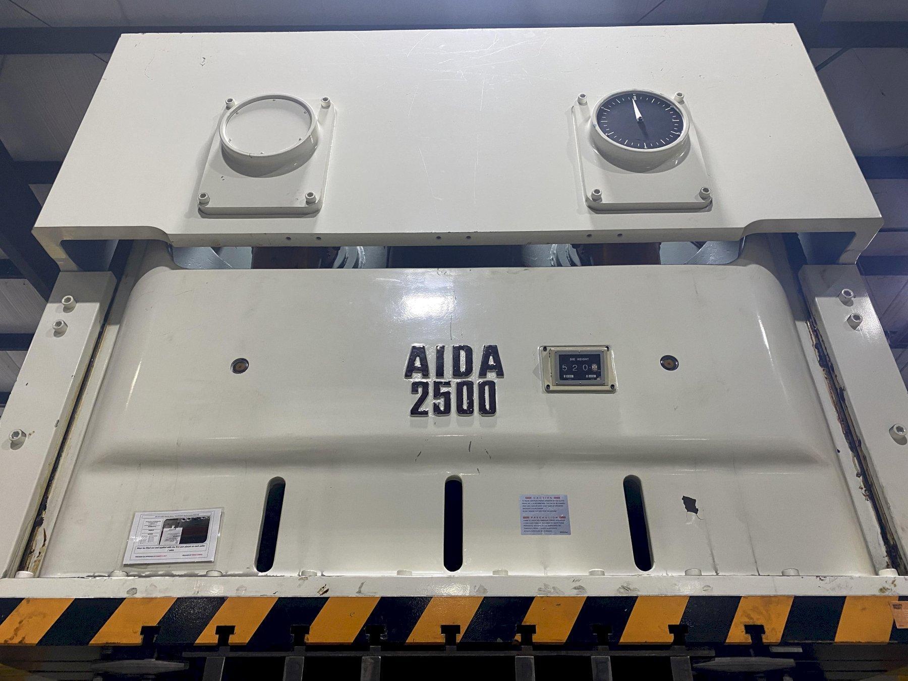 AIDA MODEL NC2-2500(2) PRESS