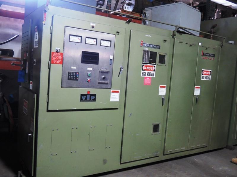 1996 INDUCTOTHERM MODEL 1000-10R 1000 KW 1200 HZ POWER SUPPLY S/N 96E-58567