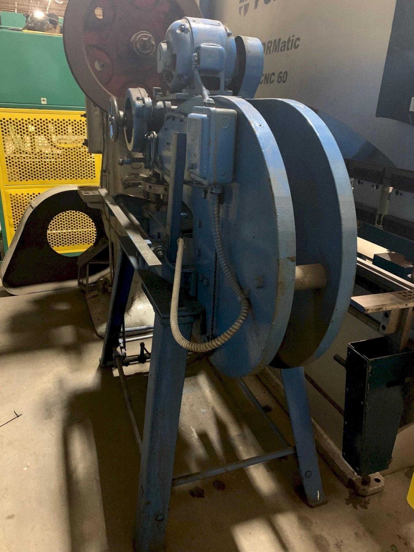 USED WIEDEMANN 12 STATION POWERED TURRET PUNCH, Stock# 10825