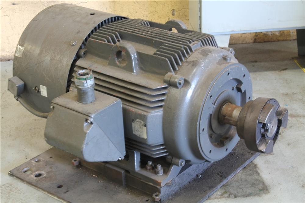 100 HP VECTOR DRIVE MOTOR WITH DRIVE:  STOCK #62942