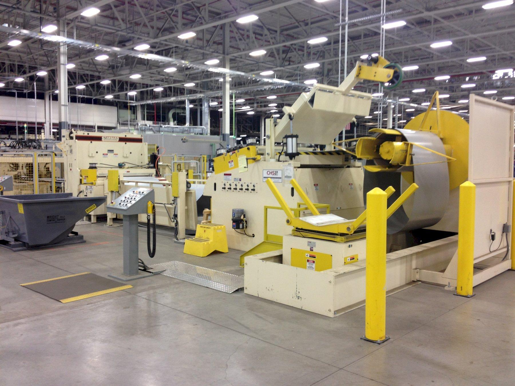CHS Automation Coil Feed Line 30,000 Lbs. x 66