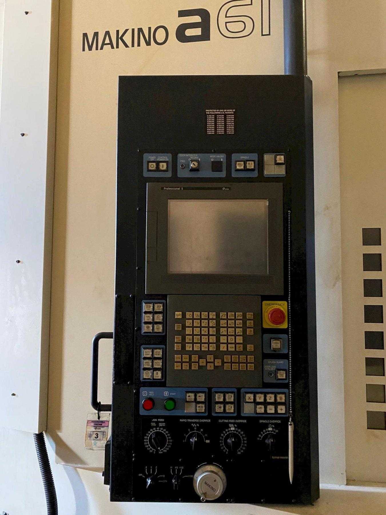2008 Makino A61 - CNC Horizontal Machining Center