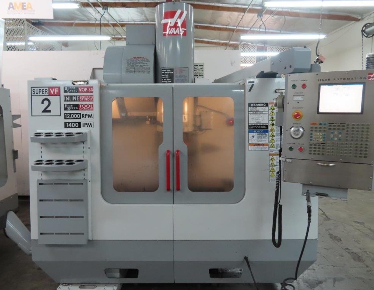 HAAS MODEL #VF-2SS CNC VERTICAL MACHINING CENTER: STOCK 14518