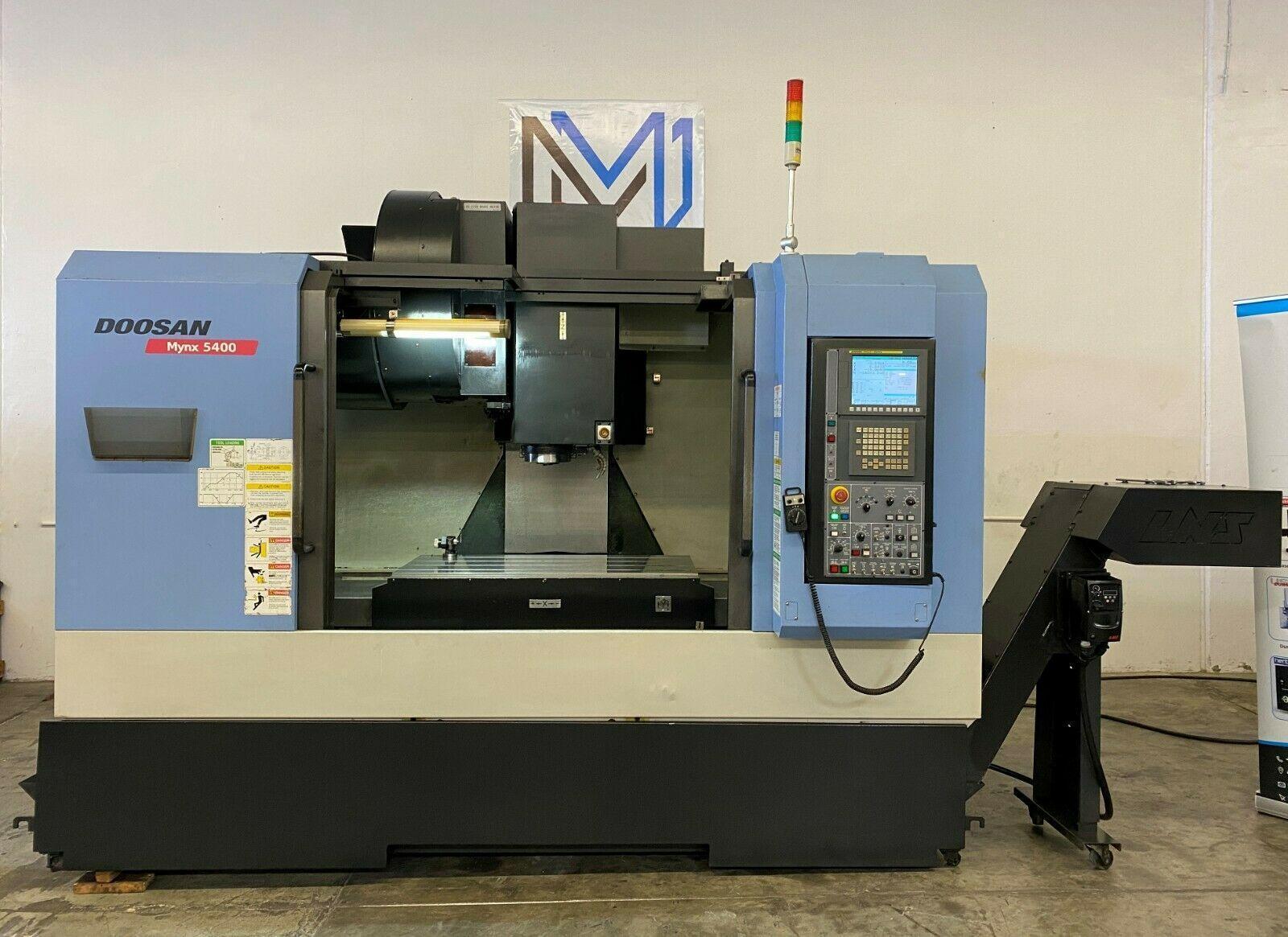 DOOSAN MYNX 5400 VERTICAL MACHINING CENTER