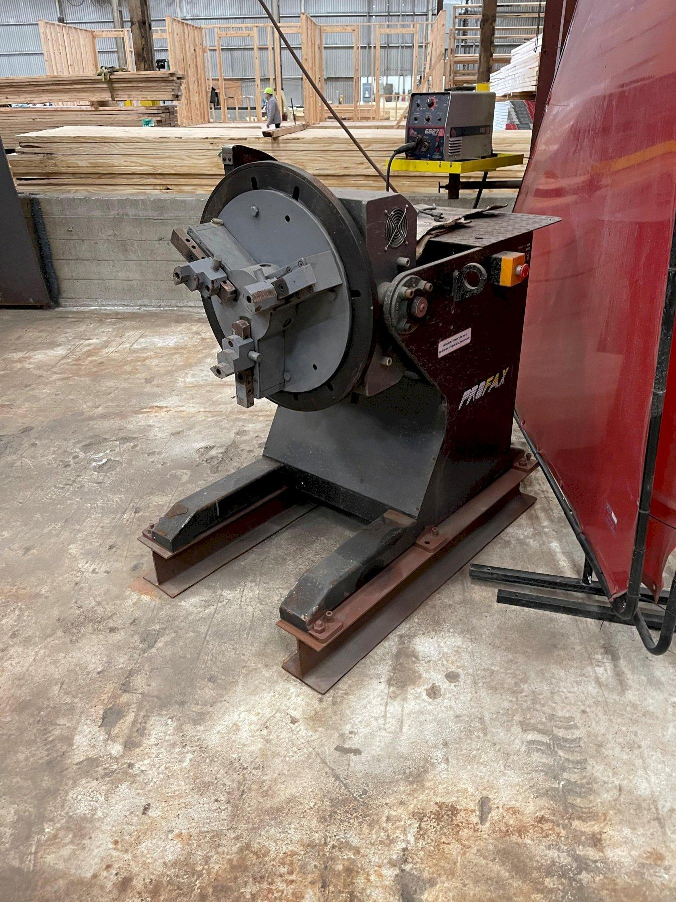 1750 LB PRO-FAX MODEL WP-1000 WELDING POSITIONER. STOCK # 0311521
