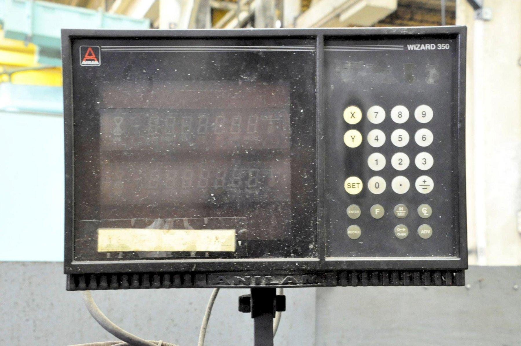 2 HP BRIDGEPORT SERIES I VERTICAL MILL