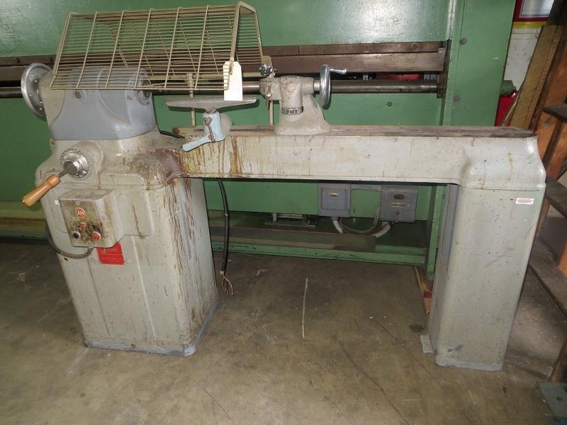 Brodhead-Garrett Co. Gap Bed Wood Lathe, J-Line 13/17