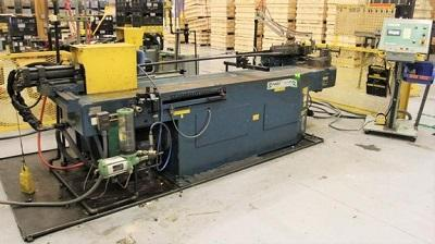 PINES #2 HYDRAULIC ROTARY TUBE AND PIPE DRAW BENDER   Our stock number: 113833