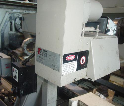 """OKUMA CAPTAIN L470-1250BBM, OSP E-100L CNC, Live Tooling, 15"""" Chuck, 50"""" Centers, Tooling Package, Low Hours, 2005."""
