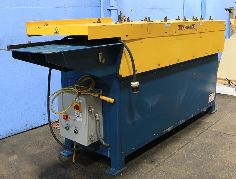 18 Ga. Lockformer TDC Rollforming Machine Model 14-TDC