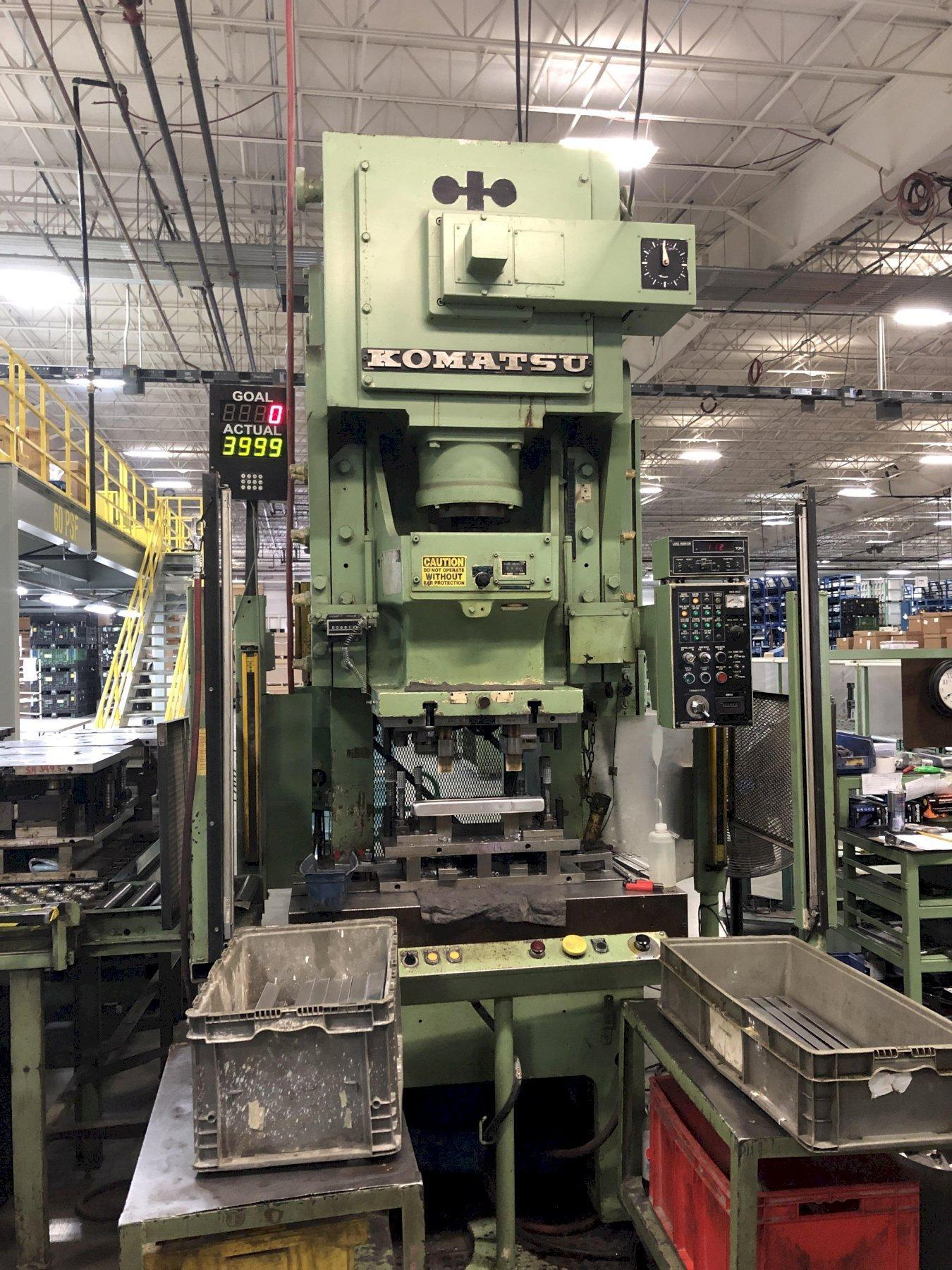 121 Ton Komatsu Gap Frame Press