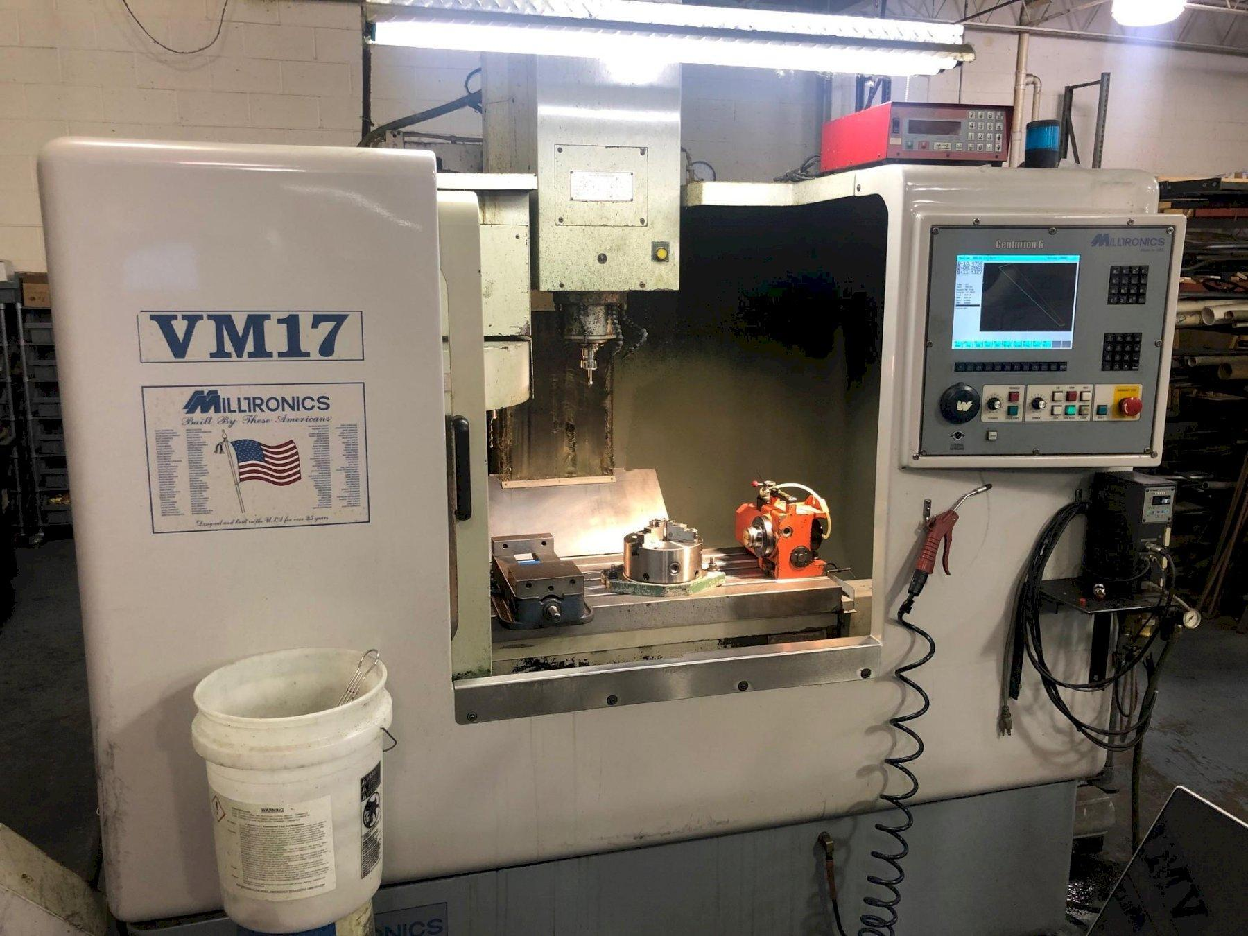Milltronics VM17 Vertical Machining Center