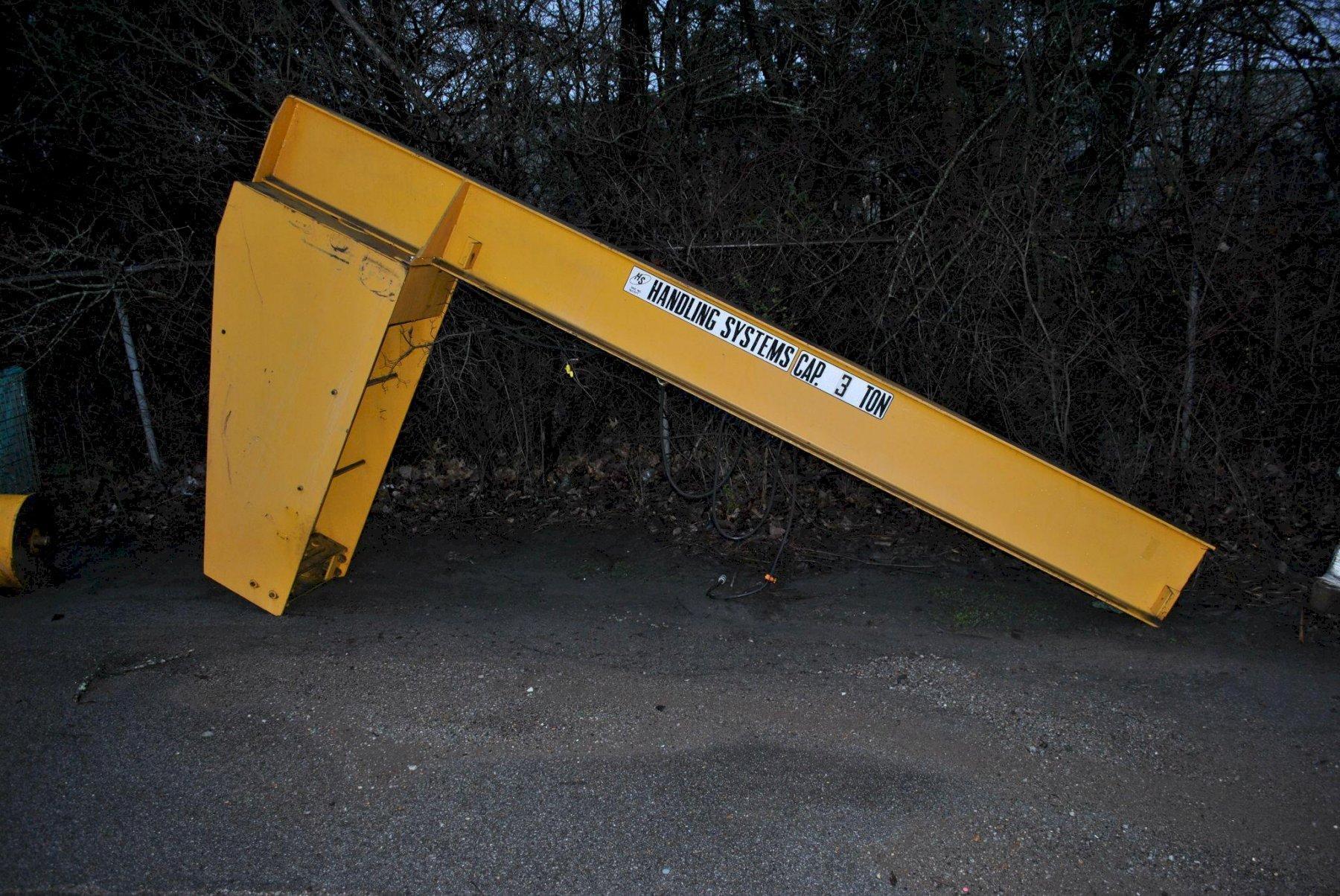 3 Ton Handling Systems Jib Crane