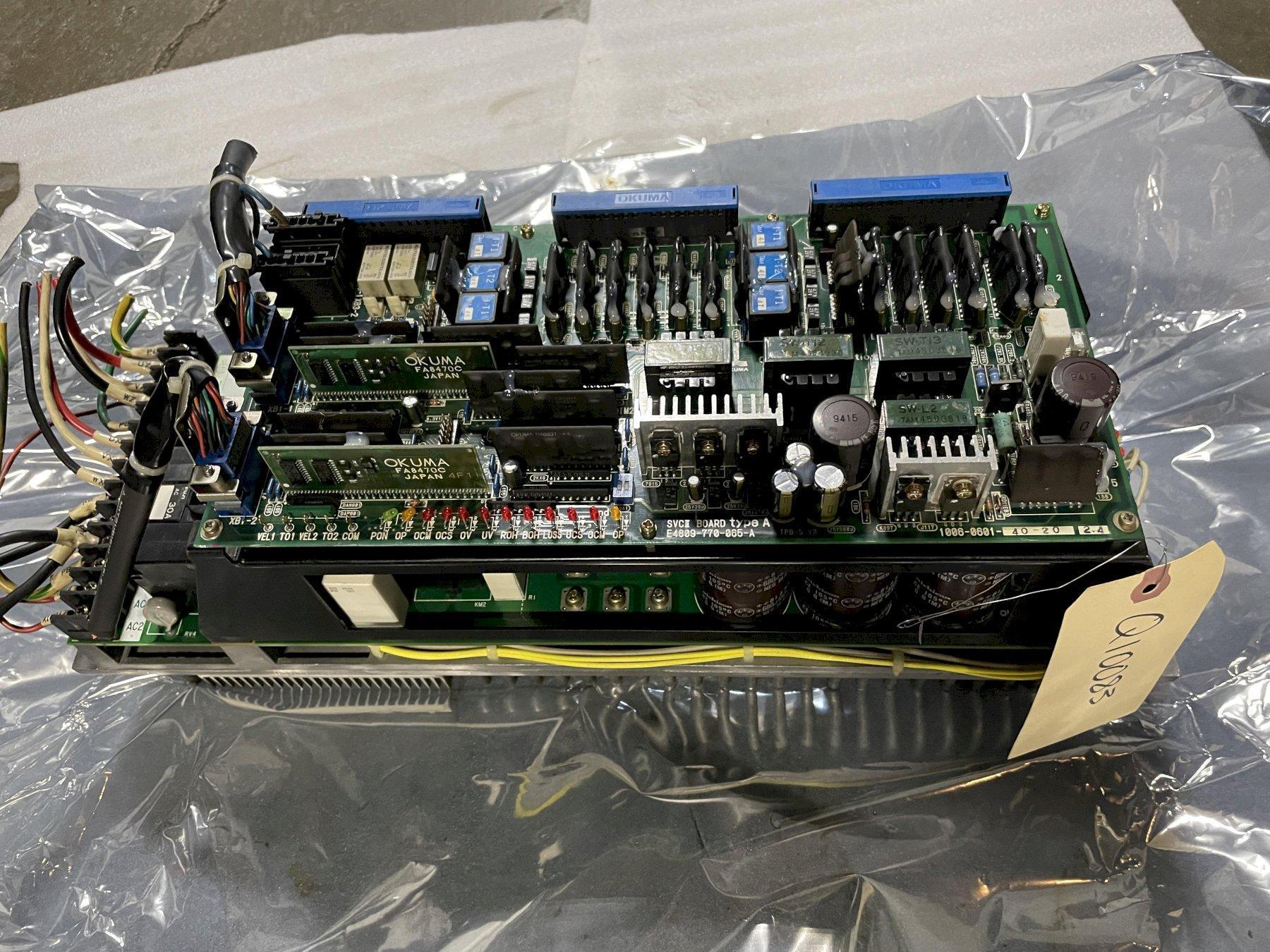 Okuma Dual Axis Drive, BLII-D, 75-50, E4809-770-065-A